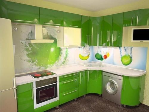 Кухни Пластик 18
