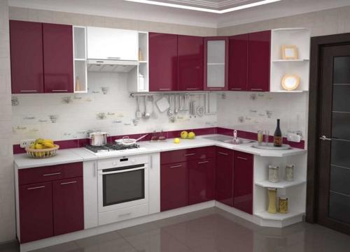 Кухни Эмаль 44