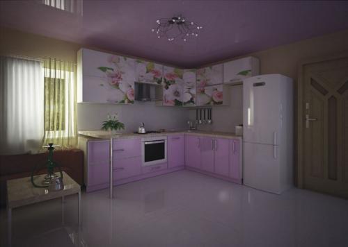 Кухни МДФ17