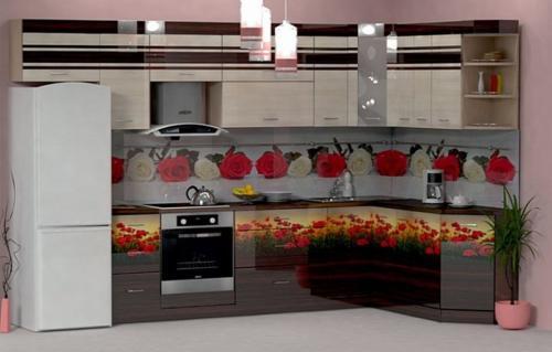 Кухни Пластик 47